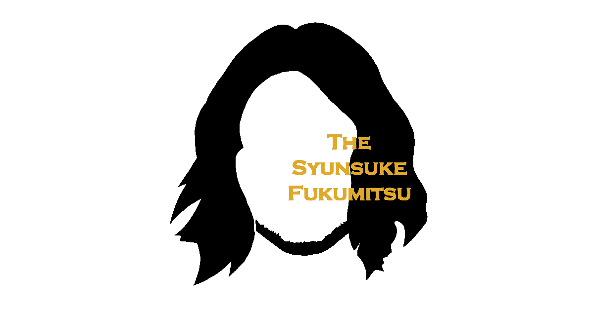 ARTICLE: thesyunsukefukumitsu.jp